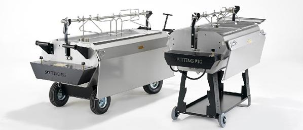 Titan and Prof Hog Roastn Machine